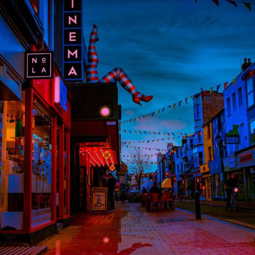 Brighton komedia twilight